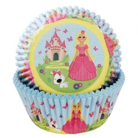 """50 caissettes """"Ma jolie princesse"""""""