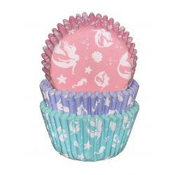 """Caissettes à cupcakes """"Sirènes"""""""