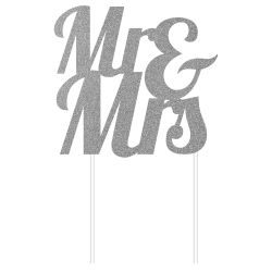 "Topper ""Mr & Mrs"" - Argent"