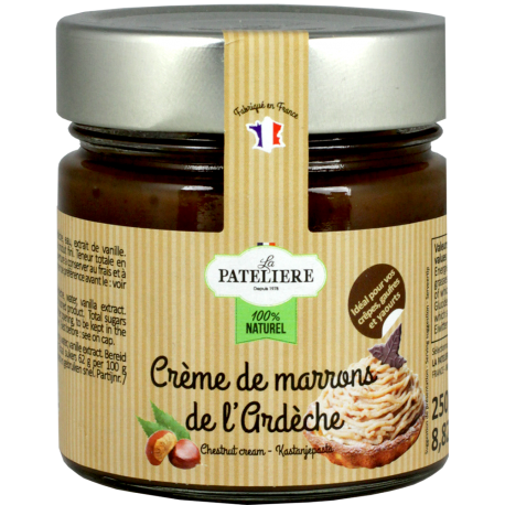 Crème de marron de l'Ardèche - 250 g