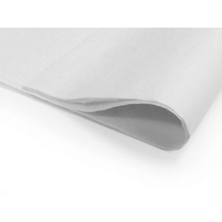 6 feuilles de papier de soie - Blanc