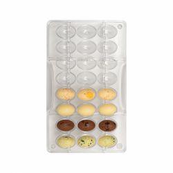 """Moule à chocolats 3D """"12 oeufs 3D"""""""