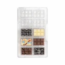 """Moule à chocolats """"10 mini tablettes"""""""