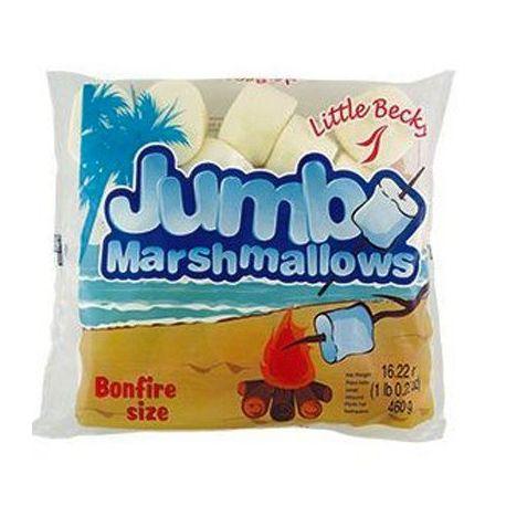 Chamallows blancs géants - 460 g