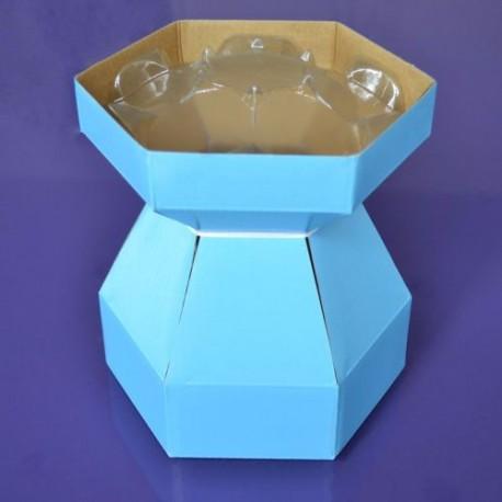 Kit pour bouquet de cupcakes - Jaune