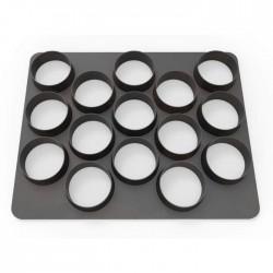 Emporte-pièce 15 cercles - 3 cm