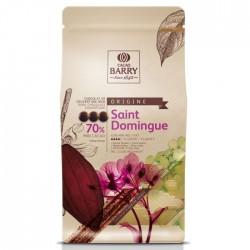 Chocolat de couverture noir - 70% - 1 kg