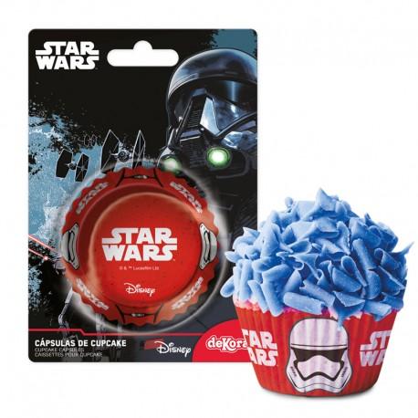 50 caissettes à cupcakes Star Wars