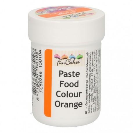 Colorant alimentaire en pâte - Orange