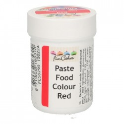 Colorant alimentaire en pâte rouge