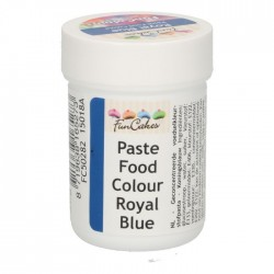 Colorant alimentaire en pâte bleu royal