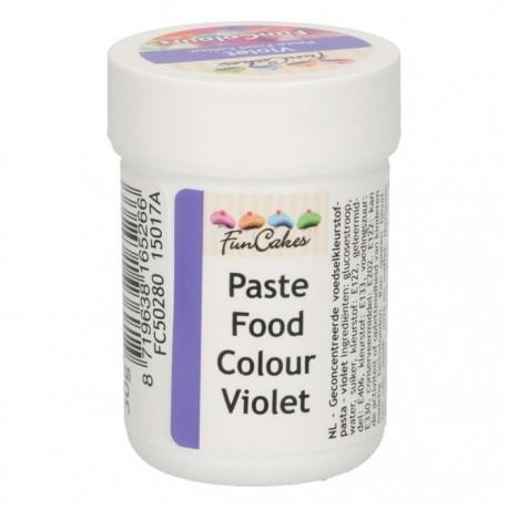 Colorant alimentaire en pâte - Violet