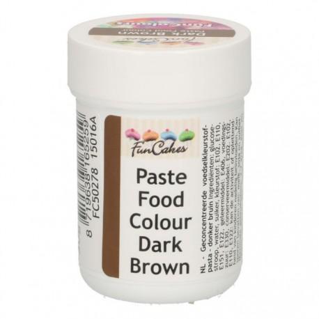 Colorant alimentaire en pâte - Marron