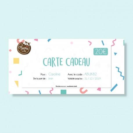 Carte Cadeau Classique