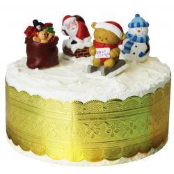 """Toppers """"Le Père Noël arrive par la cheminée"""""""