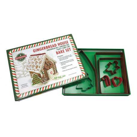 Kit d'emporte-pièces pour maison en pain d'épices ou biscuits