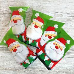 """12 sachets sip pour biscuits et confiseries """"Papa Noël"""""""