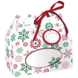 """4 Boîtes à biscuits aux motifs de """"Noël"""""""