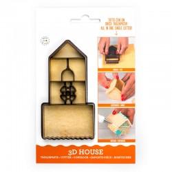 Emporte-pièce pour Maison 3D