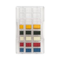 Moule à chocolats façon Lego © - 24 cavités