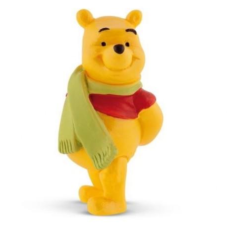 Figurine Winnie l'Ourson et son lapin