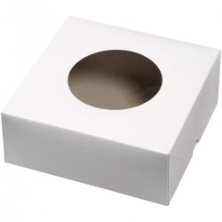 Boîte à tarte 22,8 cm x 22,8 cm