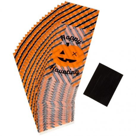 """20 sachets à confiseries et bonbons """"Joyeux Halloween"""""""