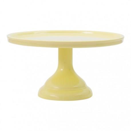Petit présentoir à gâteaux - Jaune - 23.2 cm