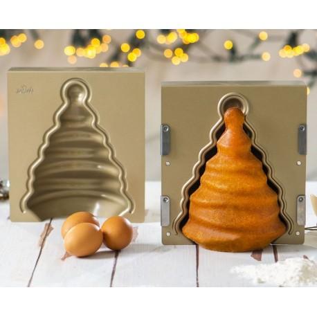 Moule à gâteau anti-adhésif Sapin de Noël 3D