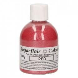 Sprinkles en sucre - Rouge