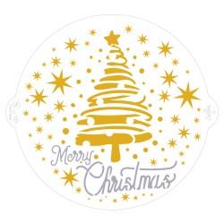 Pochoir Joyeux Noël Ø 25 cm