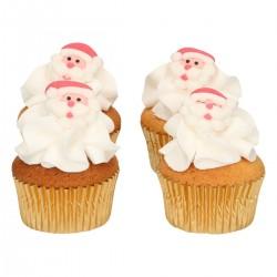 """8 décors en sucre """"Père Noël"""""""
