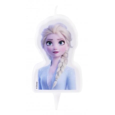 """Bougie d'anniversaire """"Elsa, Reine des Neiges 2"""""""