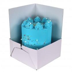 Boîte à gâteaux blanche - Taille modulable