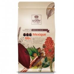 Chocolat de couverture noir - 66 % - 1 kg