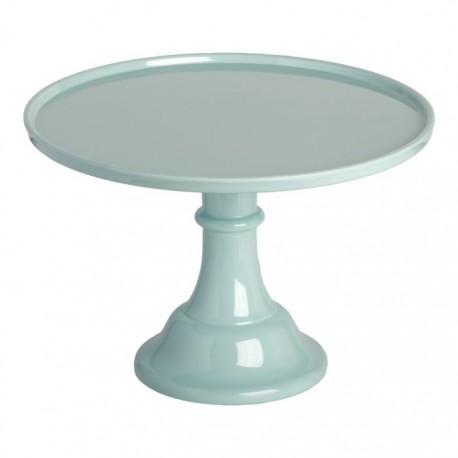 Présentoir à gâteaux bleu vintage - 29.7 cm