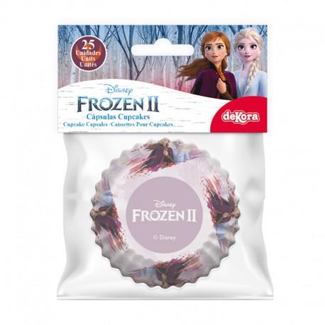 """25 caissettes à cupcakes standard """"La Reine des Neiges 2"""""""