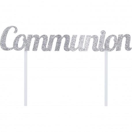 """Topper pour gâteau """"Communion"""""""
