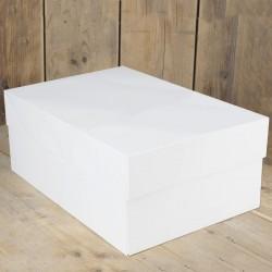 Boîte à gâteau rectangulaire 40x30x15 cm