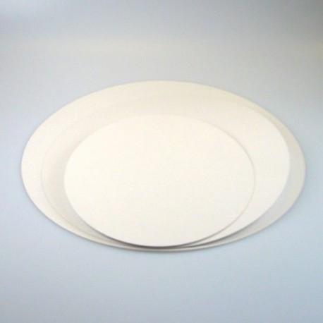 Lot de 5 supports à gâteaux ronds épaisseur 6 mm - Différentes tailles