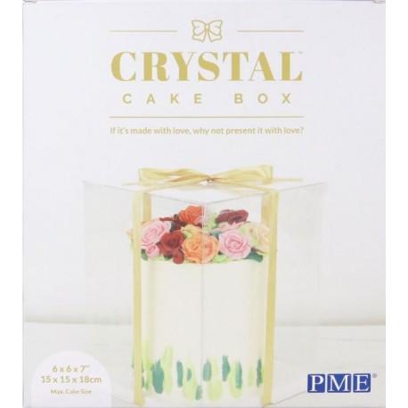 Boîte à gâteaux transparente - Différentes tailles