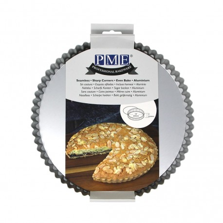 Moule à tarte à fond amovible - 25 cm
