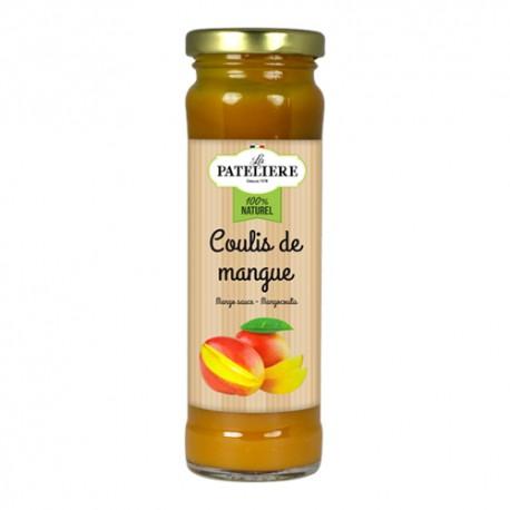 Coulis de mangue 75% de fruits - 165 g