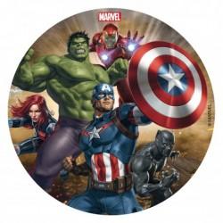 """Disque azyme """"Avengers"""" - 16 cm"""