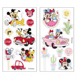 "18 décorations comestibles en azyme ""Minnie & Mickey"" à découper"