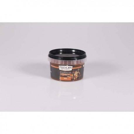 Pâte Gianduja noir et noisettes - 250 g