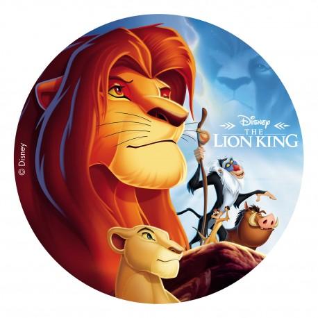 "Disque azyme ""Roi Lion"" - 20 cm"