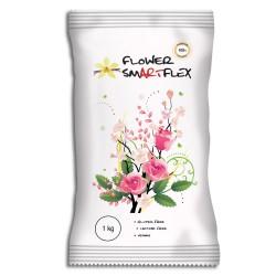 Pâte à modeler Smarflex pour fleurs - Blanc - 1kg