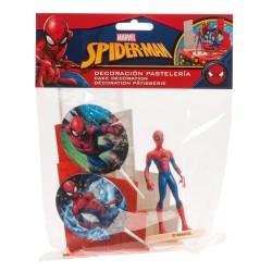 """Kit de décoration pour gâteau """"Spider Man"""""""