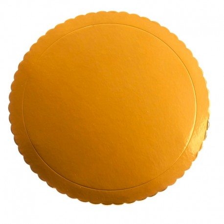 Support à gâteaux rond - Bords ondulés - Ø30 cm - Différents coloris